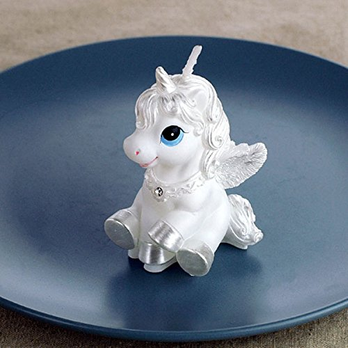 0612435539972 - CARTOON ZODIAC PEGASUS / UNICORN / HORSE CHARMING GIFTS PARTY CANDLES SMOKELESS CANDLES BIRTHDAY CANDLES FOR BABY SHOWER AND WEDDING FAVOR KEEPSAKE FAVOR