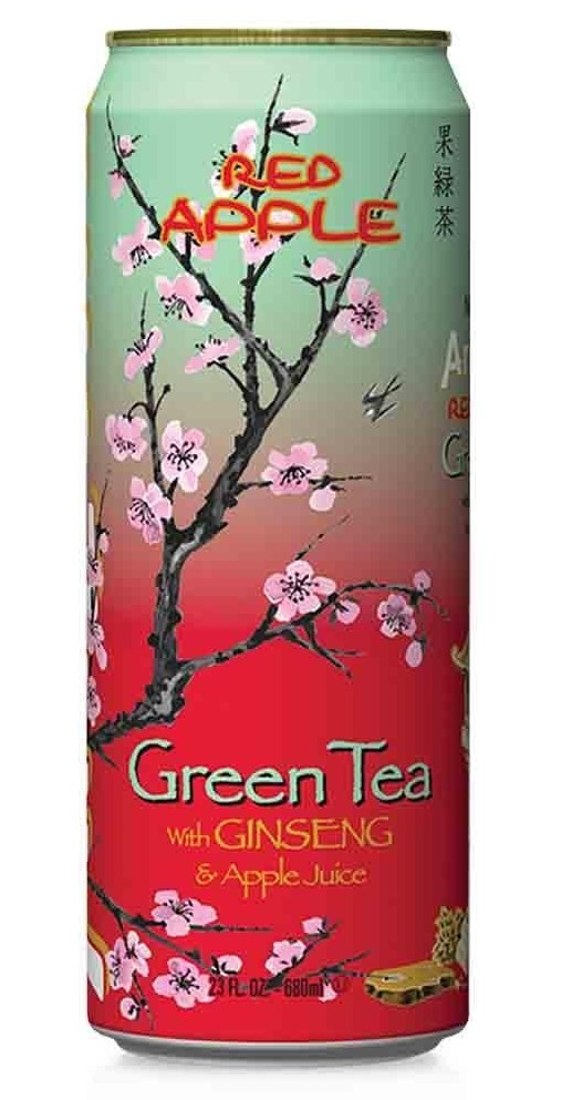 0613008722395 - ICED TEA RED APPLE GREEN TEA 23