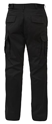 0613902797130 - UF BDU PANT BLACK - LARGE