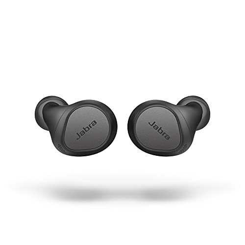 0615822015752 - JABRA ELITE 7 PRO IN EAR BLUETOOTH EARBUDS - ADJUSTABLE ACTIVE NOISE CANCELLATION TRUE WIRELESS BUDS IN A COMPACT DESIGN - 4 BUILT-IN MICROPHONES AND MULTISENSOR VOICE FOR CLEAR CALLS - TITANIUM BLACK