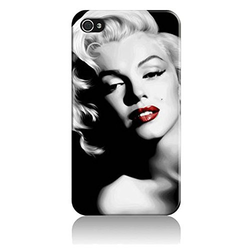 0616639912302 - MARILYN MONROE RED LIPS IPHONE 5 CASE PROTECTIVE FOR APPLE IPHONE 5/5S