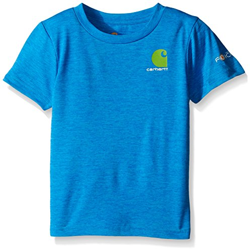 0616868155013 - CARHARTT BABY-BOYS LIVE TO FISH FORCE TEE, BLITHE, 24 MONTHS