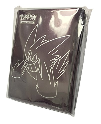 0617390973939 - 65 GENGAR EX SLEEVES/DECK PROTECTORS (FOR POKEMON CARDS) FROM THE PHANTOM FORCES ELITE TRAINER BOX