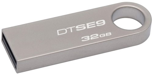 0617407443844 - KINGSTON DIGITAL DATATRAVELER SE9 32GB USB 2.0 FLASH DRIVE (DTSE9H/32GBZ)