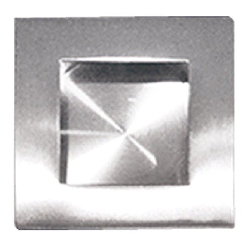 0617689423312 - INOX FHIX05-32D SQUARE POCKET OR CUP PULL WITH SQUARE OPENING, SATIN NICKEL