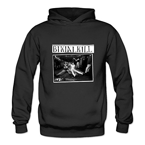 6262347190842 - CRYSTAL MEN'S BIKINI KILL THE C.D. VERSION OF THE FIRST TWO RECORDS LONG SLEEVE T SHIRT BLACK US SIZE M