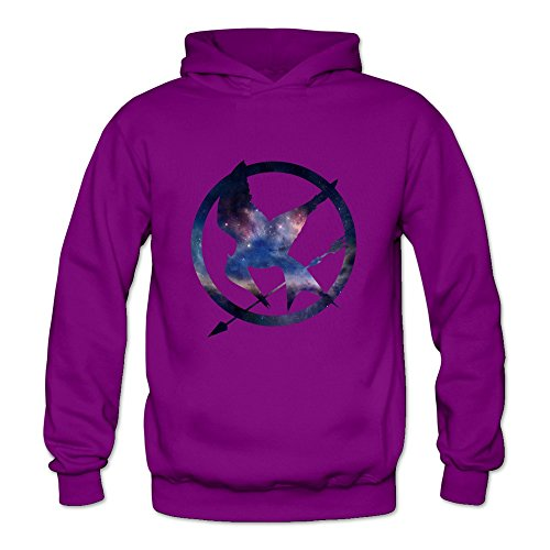 6262347580476 - CRYSTAL WOMEN'S THE HUNGER GAMES IS THE UNIVERSE LONG SLEEVE SWEATSHIRTS AND HOODIES PURPLE US SIZE XXL