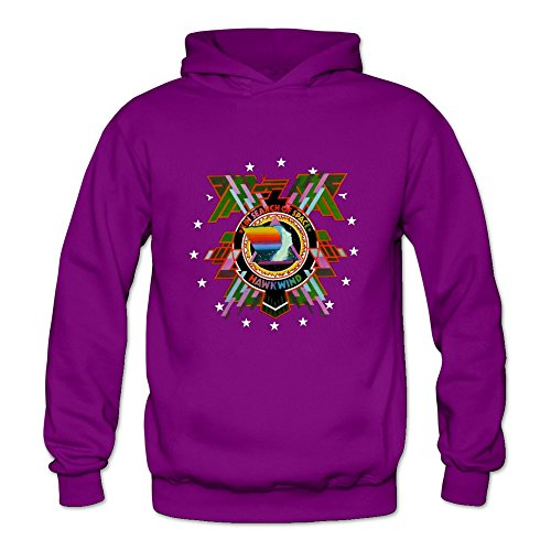 6262385859695 - CRYSTAL MEN'S HAWKWIND LONG SLEEVE SWEATSHIRT PURPLE US SIZE XXL