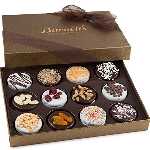 0628586674028 - ELEGANT CHOCOLATE COVERED SANDWICH COOKIES GIFTBOX