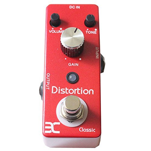 0631340219656 - ENO GUITAR PEDAL-CLASSIC DISTORTION EFFECT GUITAR EFFECT PEDAL TRUE BYPASS