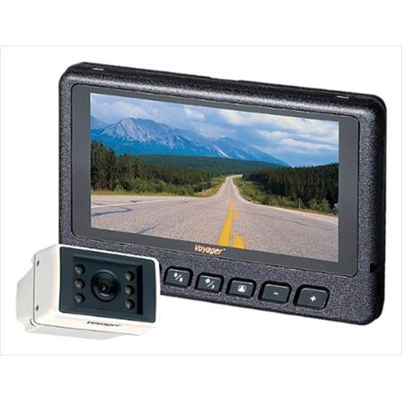 0632500400327 - RV MOTORHOME TRAILER REAR OBSERV MOTORHOME TRAILERATION SYSTEM WITH LCD MONITOR AND NIGHT-VUE CAMER