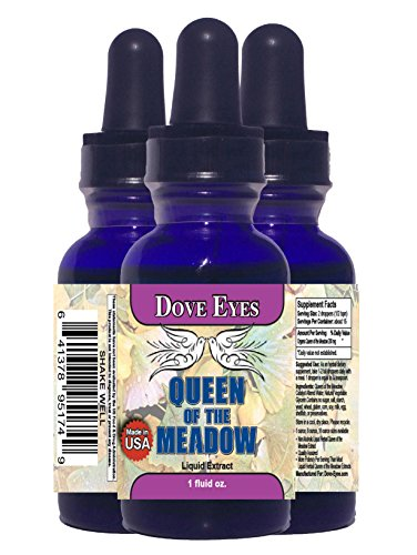 0637632533615 - QUEEN OF THE MEADOW (FILIPENDULA ULMARIA) FROM DOVE EYES! - ORGANIC LIQUID EXTRACT! - MADE IN AMERICA! - ALCOHOL FREE! - 100% MONEY BACK GUARANTEE!** ON SALE NOW! - GET FREE HOME HERBAL HINTS EBOOK!