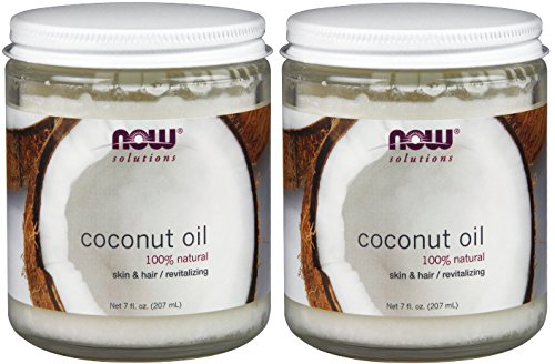 0638302702003 - NOW FOODS PURE COCONUT OIL , 7 OZ (PACK OF 2)