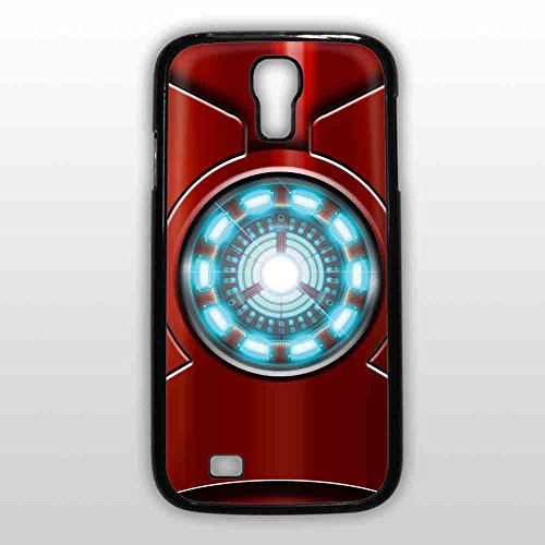 6391946625186 - ARC REACTOR IRON MAN FOR IPHONE AND SAMSUNG GALAXY CASE (SAMSUNG S4 BLACK)