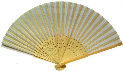 0639302477342 - COUNTRY GENT LIGHT HANDHELD FOLDING FAN - 6 PACK