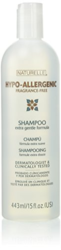 0639738629971 - NATURELLE HYPO-ALLERGENIC FRAGRANCE-FREE SHAMPOO 15 OZ (2 PACK)