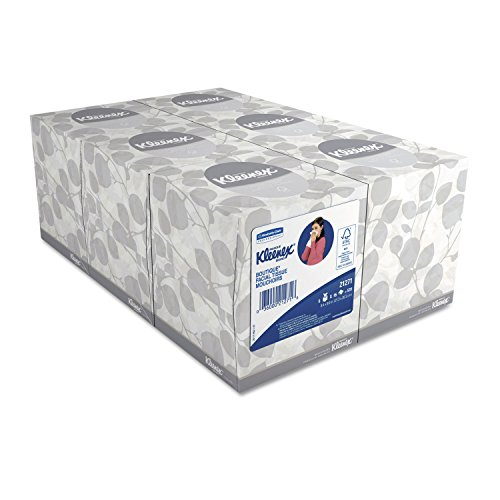 0641438199579 - KIMBERLY-CLARK PROFESSIONAL* - KLEENEX WHITE FACIAL TISSUE, 2-PLY, POP-UP BOX, 9