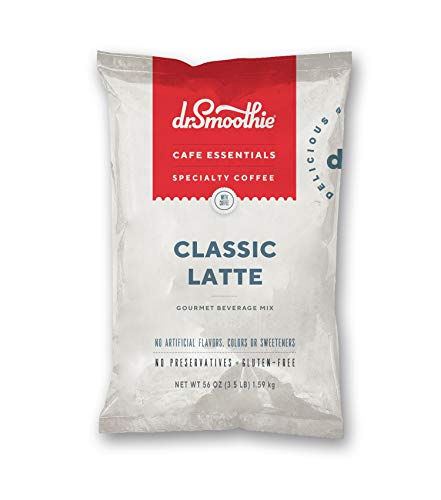 0647854604949 - DR. SMOOTHIE CAFE ESSENTIALS CLASSIC LATTE, 3.5 LB