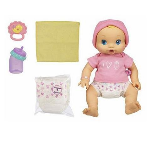0653569171041 - HASBRO BABY ALIVE WETS 'N WIGGLES DOLL