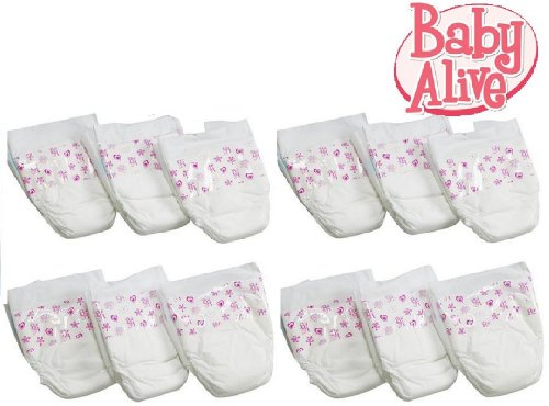 0653569324409 - BABY ALIVE DIAPERS