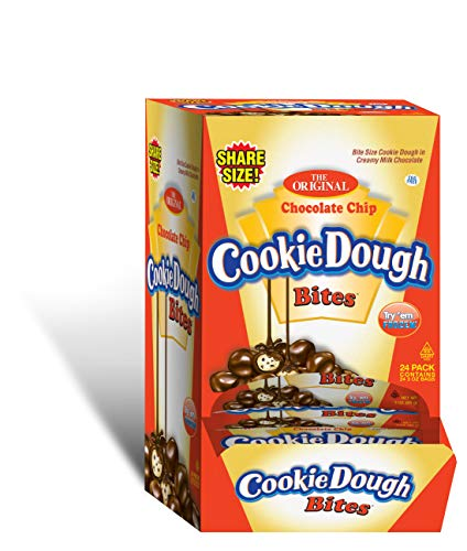 0655956002822 - COOKIE DOUGH BITES SHARE SIZE COUNTER DISPLAY, 24COUNT (PACK OF 24)