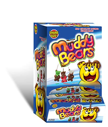 0655956002839 - MUDDY BEARS SHARE SIZE COUNTER DISPLAY, 24COUNT (PACK OF 24)