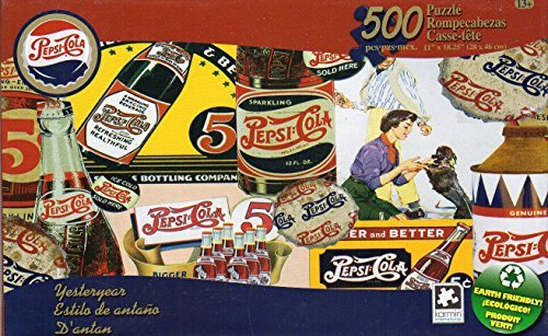 6721612219164 - PEPSI-COLA VINTAGE PUZZLE COLLECTION - YESTERYEAR - 500 PIECE JIGSAW PUZZLE