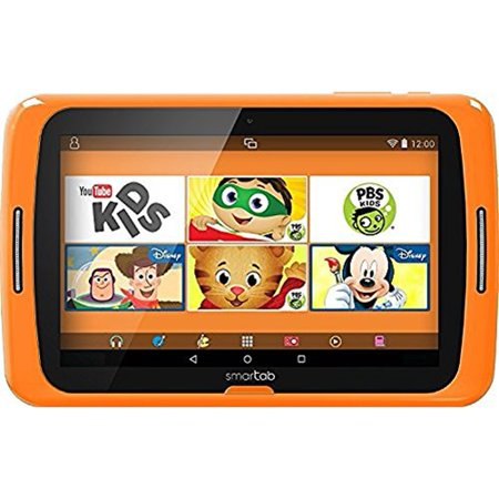 0680079777111 - SMARTAB STJR700OR 7 KIDS TABLET WITH DISNEY APPS, ANDROID LOLLIPOP 5.1, QUAD CORE, 8GB, PROTECTIVE BUMPER