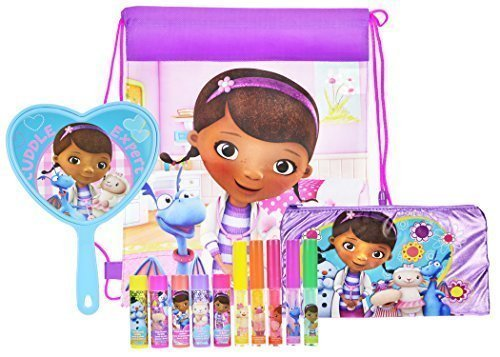 0682858128978 - DISNEY DOC MCSTUFFINS BEAUTY SET, LIP STICK AND MIRROR, PLUS DOC MCSTUFFIN BAG