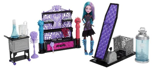0683498514640 - AMAZING MONSTER HIGH CREATE-A-MONSTER COLOR ME CREEPY DESIGN CHAMBER BY MATTEL