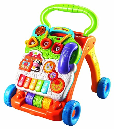 6902955586834 - TOYS SIT TO STAND LEARNING WALKER, INTERACTIVE ACTIVITY PANEL BABY WALKER