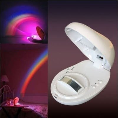 6902955588548 - RAINBOW PROJECTOR BABY COT NURSERY MOBILE TOY NIGHT LIGHT STARLIGHT SHOW
