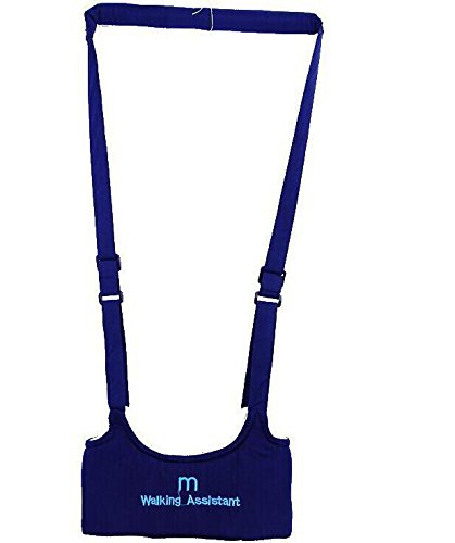6902955588661 - BABY ACTIVITY WALKER ASSISTANT JUMPER JUMPING AID INFANT TODDLER HARNESS WALK-DARK BLUE