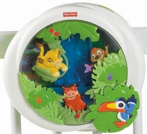 6902955589507 - FISHER PRICE DISNEY BABY LION KING PEEK A BOO SOOTHER TOY, CRIB