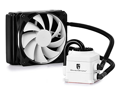 6933412725800 - DEEPCOOL CAPTAIN120 VISIBLE COOLING LIQUID WATER COOLING LIQUID COOLER 120MM RADIATOR QUIET FAN
