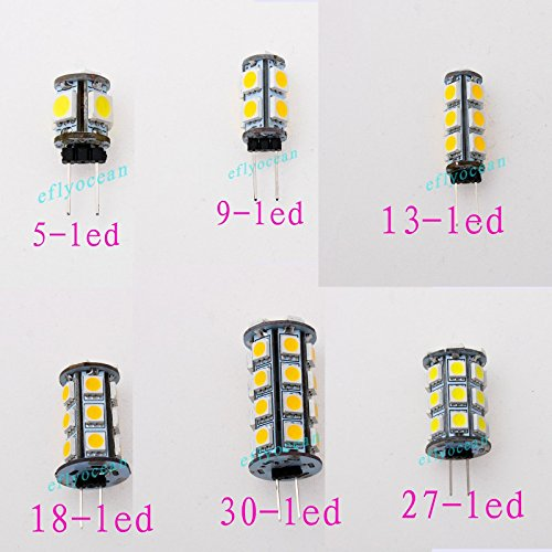 6952993769133 - ZHIGAO G4 5050 SMD 5 9 13 18 27 30 LED LIGHT WARM PURE WHITE CABINET BULB LAMP DC 12V WARM WHITE 4 27-LED