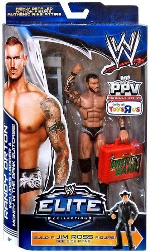 0698887584654 - MATTEL WWE WRESTLING EXCLUSIVE ELITE COLLECTION PAY PER VIEW ACTION FIGURE RANDY ORTON BY WWE
