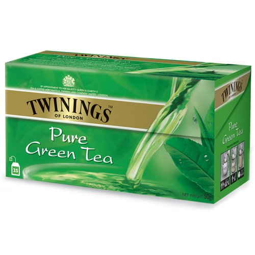 0070177086664 - CHA ING TWININGS PURE GREEN TEA 50GR
