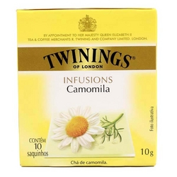 0070177197179 - CHÁ CAMOMILA TWININGS INFUSIONS CAIXA 10G 10 UNIDADES
