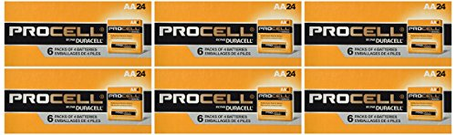 0701835730925 - DURACELL PROCELL AA 144 BATTERIES PC1500