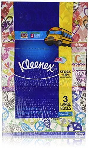 0701910647193 - KLEENEX TISSUES 2-PLY 210CT PACK OF 3