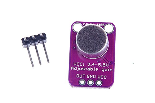 0702646394269 - XO MAX4466 ELECTRET MICROPHONE BREAKOUT AUDIO IC DEVELOPMENT TOOLS ELECTRET MIC AMPLIFIER ADJUSTABLE GAIN FOR ARDUINO