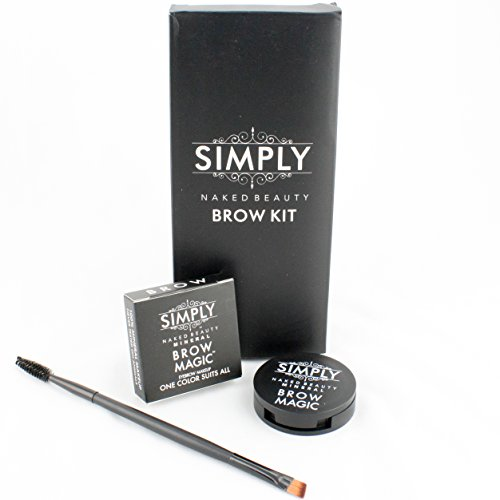 0702785104712 - EYEBROW KIT BROW MAGIC WITH BROW BRUSH AND MINERAL MAKEUP EYEBROW COLOR. ONE PERFECT SHADE FOR EVERY PERSON. ACHIEVE YOUR BEST EYEBROW SHAPES. BROW WAX, CREAM POWDER BASE. SMOOTH APPLICATION - COSMETIC MUST. WATERPROOF *SMUDGE PROOF* LASTS ALL DAY.