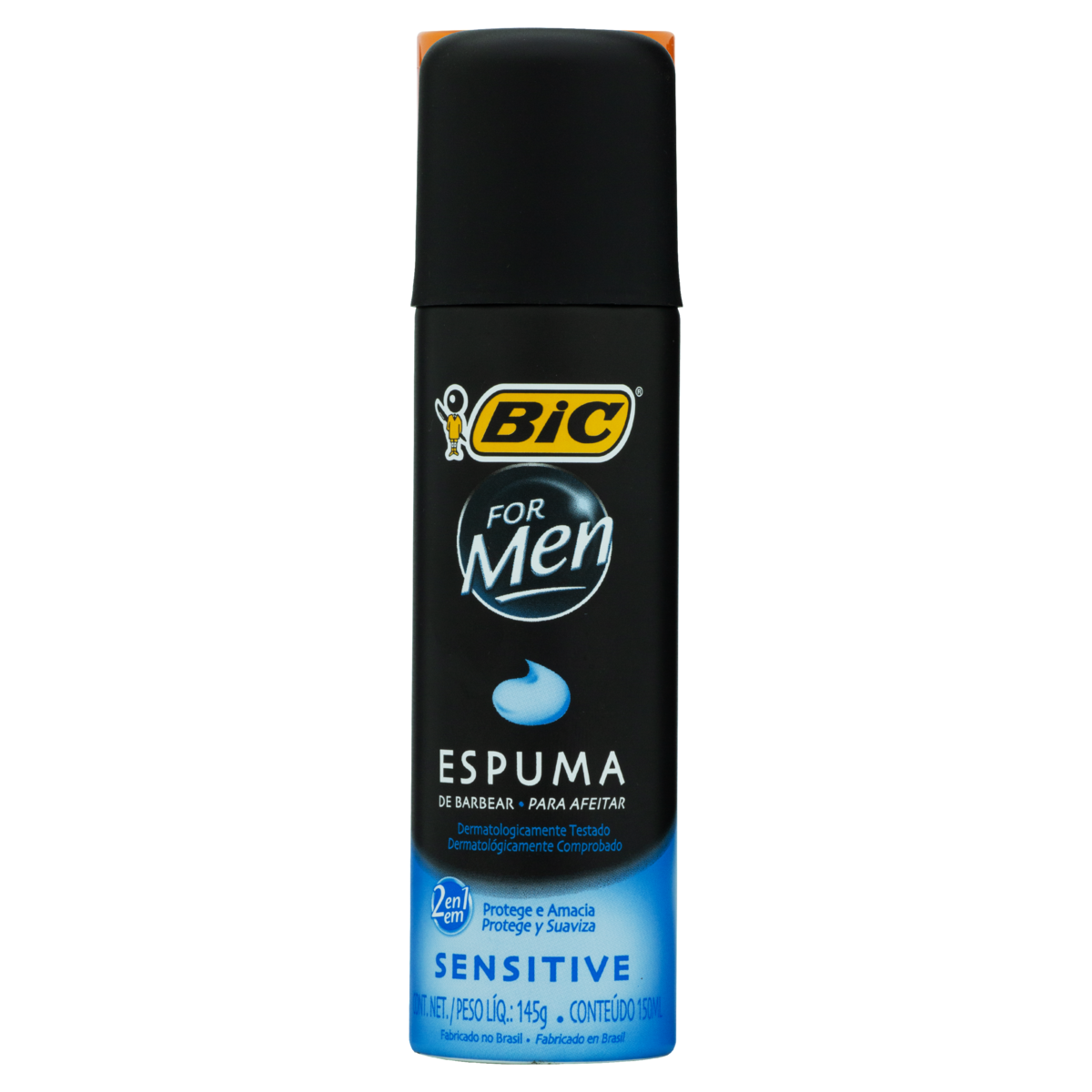 0070330770621 - ESPUMA DE BARBEAR BIC FOR MEN SENSITIVE