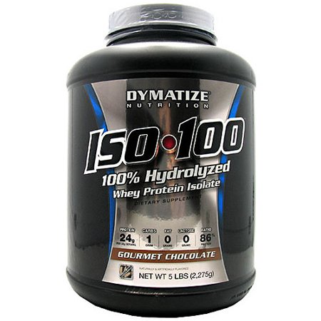0705016500024 - ISO 100 HYDROLYZED WHEY PROTEIN ISOLATE GOURMET CHOCOLATE 5 LB