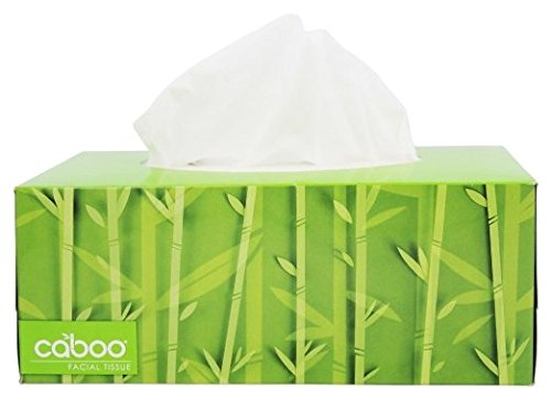 0707129707260 - CABOO - BAMBOO AND SUGARCANE 2-PLY FACIAL TISSUE - 184 TISSUE(S)