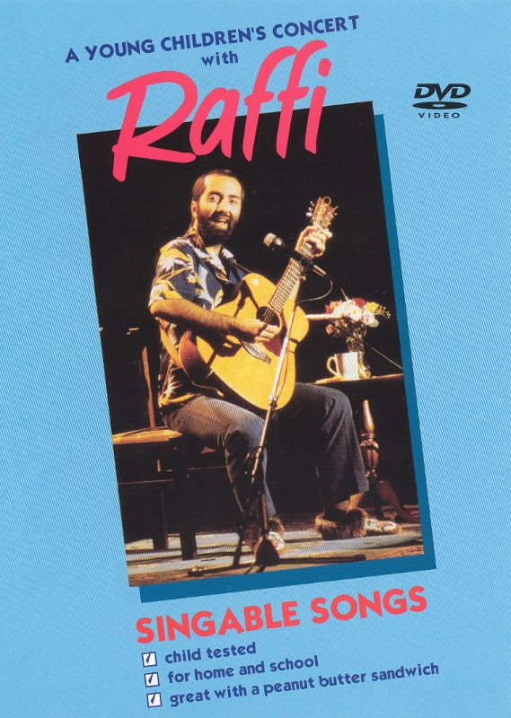 0712136300397 - A YOUNG CHILDREN'S CONCERT WITH RAFFI