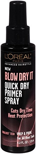 0071249292686 - L'OREAL PARIS ADVANCED HAIRSTYLE BLOW DRY IT QUICK DRY PRIMER SPRAY 4.2 FL. OZ.