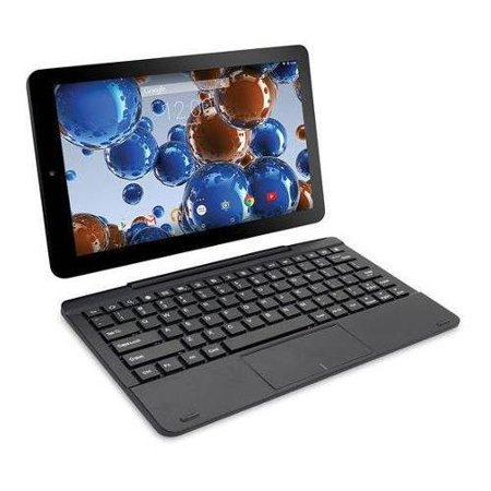 0715050648101 - RCA VIKING PRO 10 2-IN-1 TABLET 32GB QUAD CORE CHARCOAL LAPTOP COMPUTER WITH TOUCHSCREEN AND DETACHABLE KEYBOARD GOOGLE ANDROID 5.0 LOLLIPOP