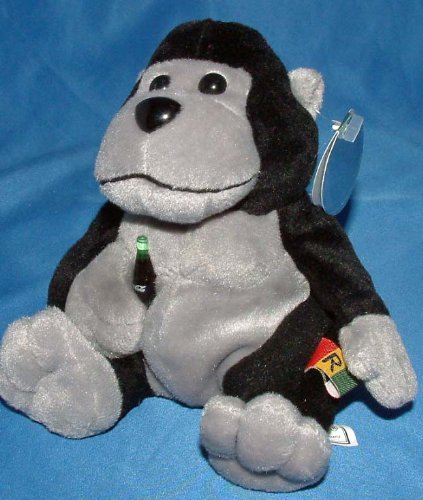 0715429991029 - COCA-COLA INTERNATIONAL COLLECTION BEAN BAG RILLY THE GORILLA - RWANDA ITEM #0218